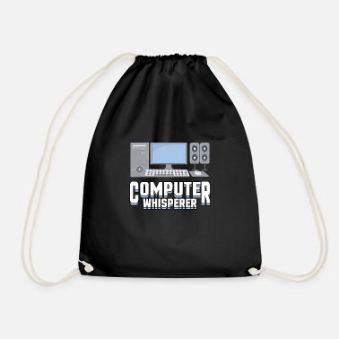 Computer Whisper Computer Scientist Student - Drawstring Bag
