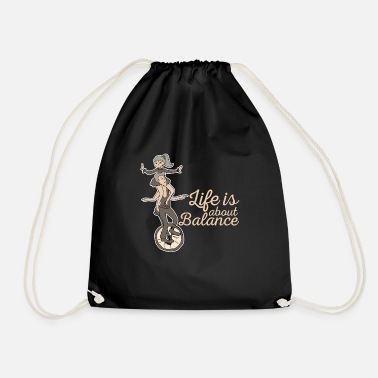 Balanced balance - Drawstring Bag