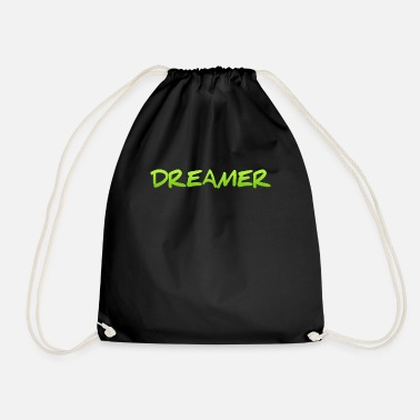 Bed With Satisfaction Dreamer Dreaming Sleeping Hope Confidence Shirt - Drawstring Bag