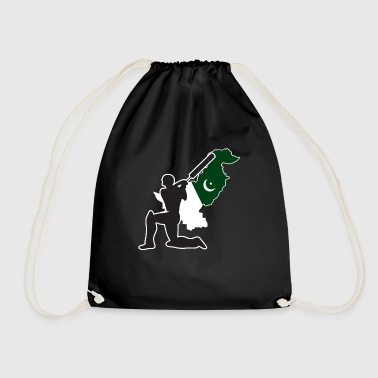 Pakistan Cricket, Pakistan Cricket Gift - Drawstring Bag