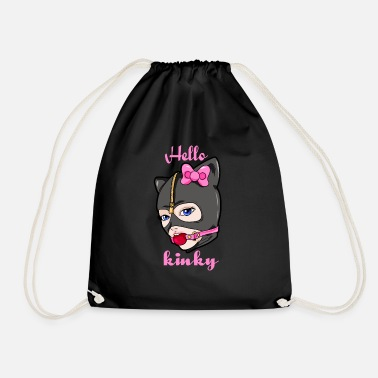 Gag Hello Kinky Lady Gag Mask - Drawstring Bag