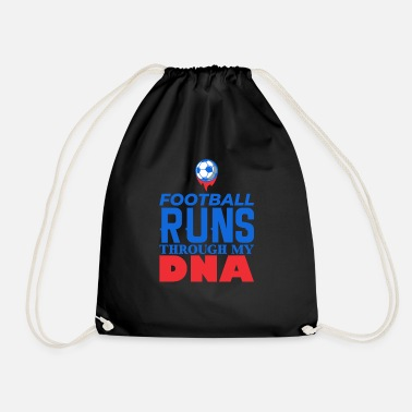 Football is in my DNA - Football Fan Edition - Drawstring Bag