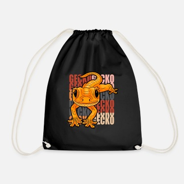 Gecko Gecko - Drawstring Bag