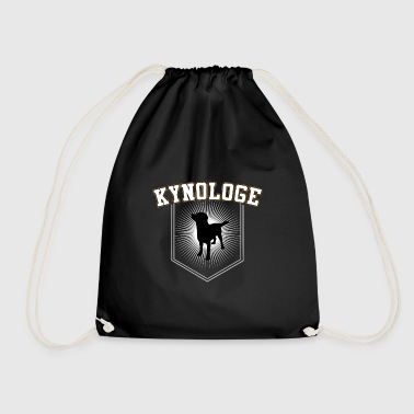 Cynologist Cynology Gift for dog trainer - Drawstring Bag