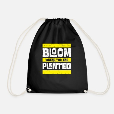 Bloom Bloom - Drawstring Bag