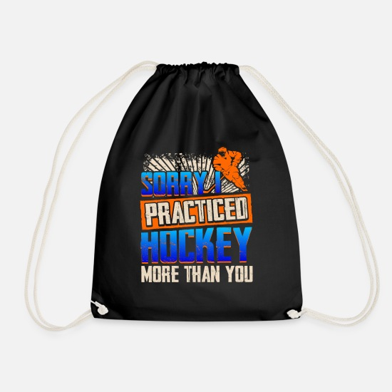 Ziel Bags & Backpacks - Practice hockey - Drawstring Bag black