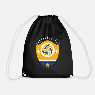 Beachvolleyball Volleybal Premium shirt Beachvolleybalgeschenk - Gymtas