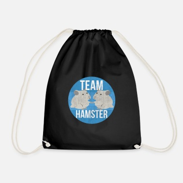 Hamster Saying hamster - Drawstring Bag