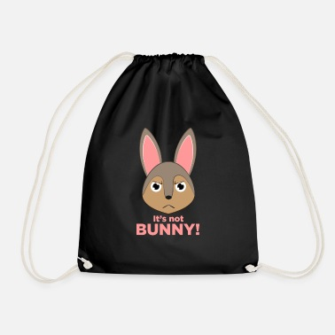 Funny Funny bunny design gift bunny pet - Drawstring Bag