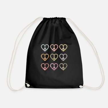 Peace Movement Peace peace movement - Drawstring Bag
