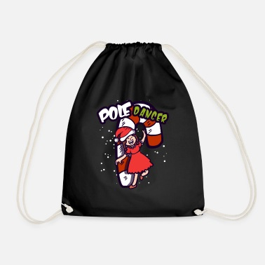 Pole-dance Canne en sucre Pole Dancer Pole Christmas Fitness Gift - Sac de sport léger