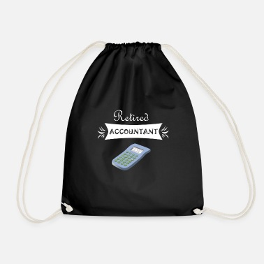 Retirement Retired - Drawstring Bag