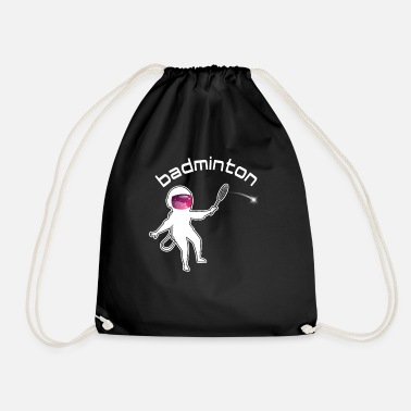 Weightless Badminton Astronaut Weightless - Drawstring Bag
