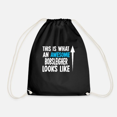 Bobsleighing Bobsleigh Bobsleigh - Drawstring Bag