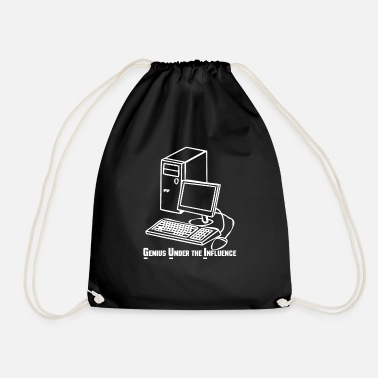 Under The Influence Programming GUI Genius Under The Influence - Drawstring Bag