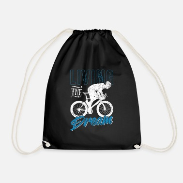 Cycling Cycling cycling - Drawstring Bag
