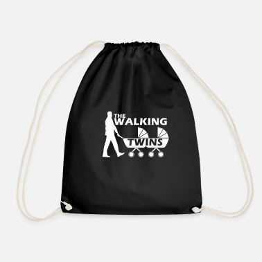 Vater Twin The Walking Twins - Turnbeutel