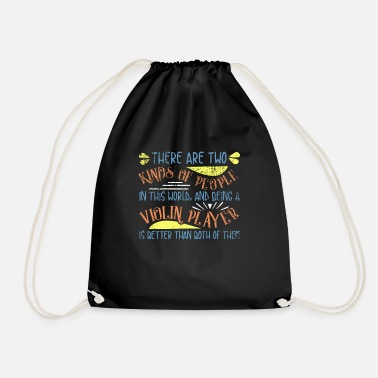 Violin violin - Drawstring Bag