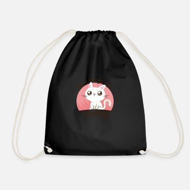 Cute Caturdays - Cute Cat Pun Joke Funny Kitten Pet - Drawstring Bag