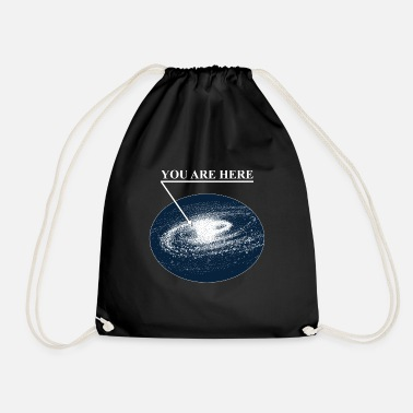 Atome Space You are Here Tee Shirt Chemise Voie Lactée - Sac à dos cordon
