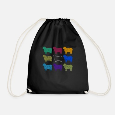 Black Sheep Black Sheep Black Sheep - Drawstring Bag