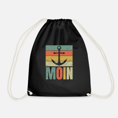 North German Platt saying gift · Möwie - Drawstring Bag