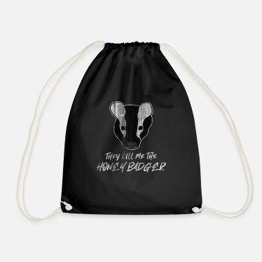 Drawstring Backpack Honey Badger Rucksack