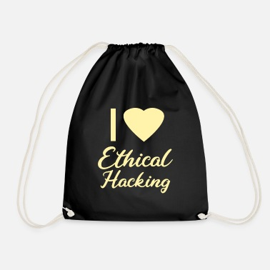 Ethics ETHICAL HACKING - Drawstring Bag