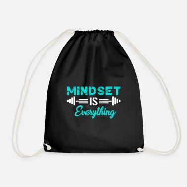 Mind Set Mind set is everything - Turnbeutel