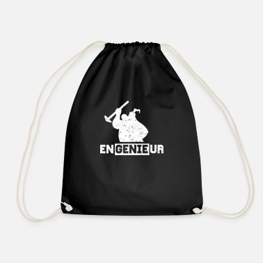 Engineering Engineer engineer engineering spirit - Drawstring Bag