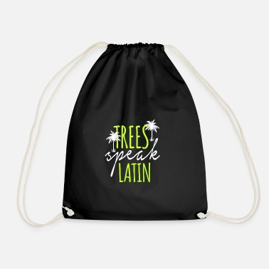 Latin latin - Drawstring Bag