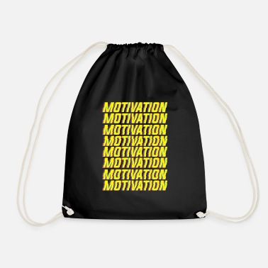 Motivation Motivation motivation - Sac à dos cordon
