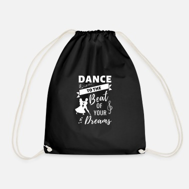 Sexy Girl Salsa Dance Clothes gift idea dancers dancing - Drawstring Bag