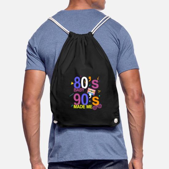90 tallet 90 tallet 80 tallet Stoffveske | Spreadshirt