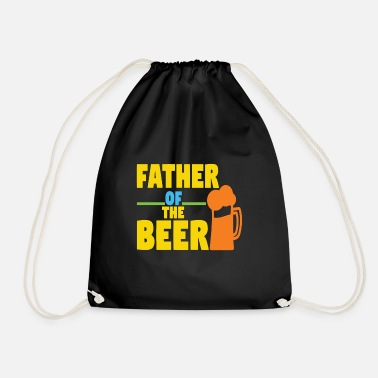 Father of Beer - Drawstring Bag