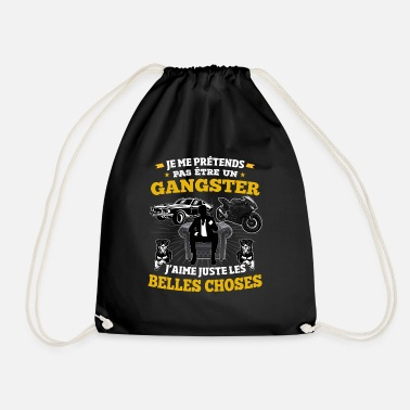 I am not a gangster - Drawstring Bag