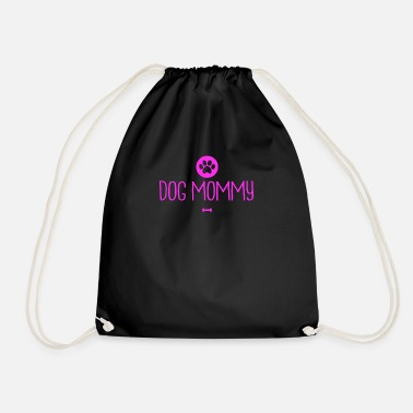 From The Best Dog mommy funny dog pet owner for her - Drawstring Bag