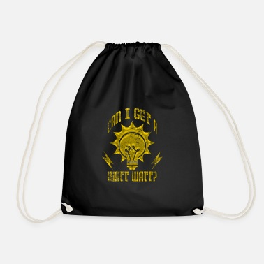 Electrical Electricity Electricity - Drawstring Bag
