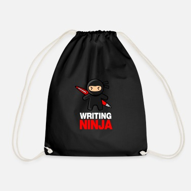 Writing Writing Ninja - Sac à dos cordon