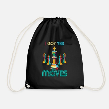 Chess Chess move sport - Drawstring Bag