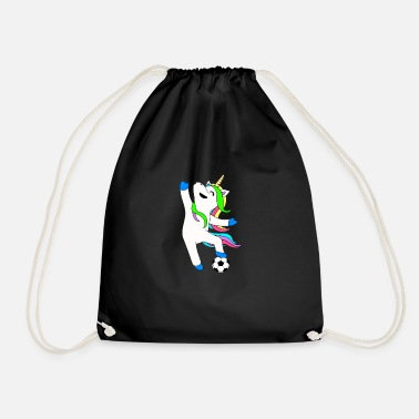 Soccer Ball Unicorn Playing Soccer Ball - Sacca sportiva