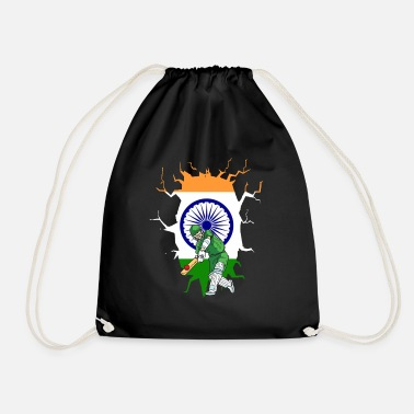 India INDIA CRICKET player - Drawstring Bag