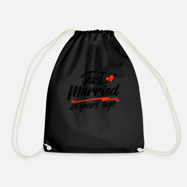 China Just Married 29 Year Ago Funny Wedding - Drawstring Bag