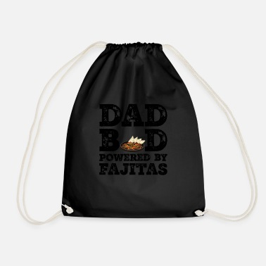 Mad Dad Bod Powered by Fajitas Father Figur Gaver - Gymnastiktaske