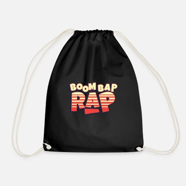 Rapper Boom Bap Rap Hiphop - Drawstring Bag