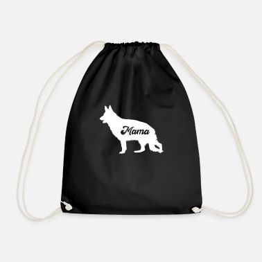 Farming Mama Wolf Love-r Family Matching Costume - Drawstring Bag