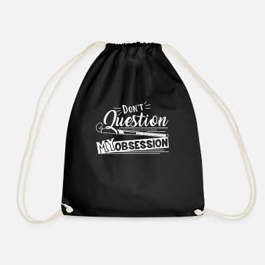 Funny Field Hockey Is My Obsession - Drawstring Bag