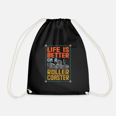 Roller coaster - Drawstring Bag