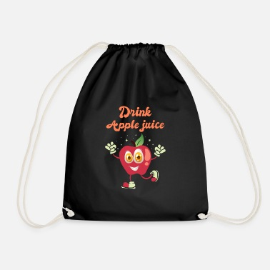 Apple Juice Drink apple juice - Drawstring Bag