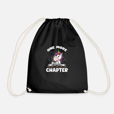 Bookworms Gift - One More Chapter Unicorn - Gymnastiktaske